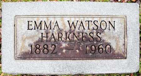 HARKNESS, EMMA - Claiborne County, Louisiana | EMMA HARKNESS - Louisiana Gravestone Photos
