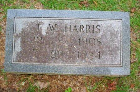HARRIS, T W - Claiborne County, Louisiana | T W HARRIS - Louisiana Gravestone Photos