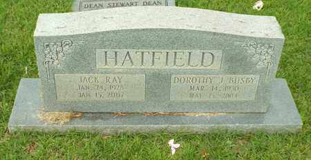 BUSBY HATFIELD, DOROTHY J - Claiborne County, Louisiana | DOROTHY J BUSBY HATFIELD - Louisiana Gravestone Photos