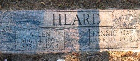 HEARD, ALLEN - Claiborne County, Louisiana | ALLEN HEARD - Louisiana Gravestone Photos
