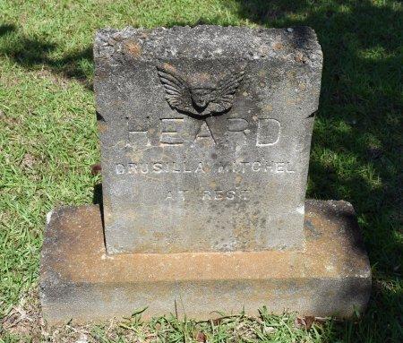 HEARD, DRUSILLA MITCHEL - Claiborne County, Louisiana | DRUSILLA MITCHEL HEARD - Louisiana Gravestone Photos