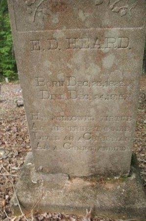 HEARD, E D - Claiborne County, Louisiana | E D HEARD - Louisiana Gravestone Photos