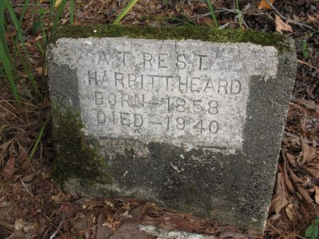 HEARD, HARRITT - Claiborne County, Louisiana | HARRITT HEARD - Louisiana Gravestone Photos