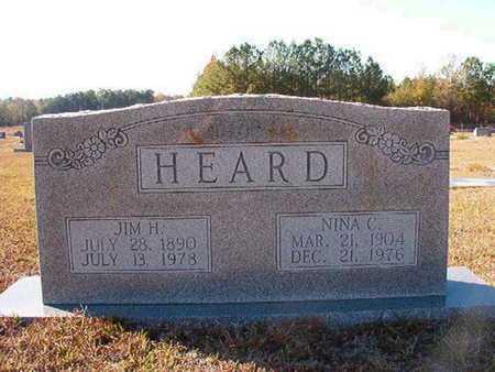 HEARD, NINA C - Claiborne County, Louisiana   NINA C HEARD - Louisiana Gravestone Photos