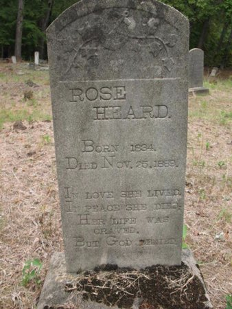 HEARD, ROSE - Claiborne County, Louisiana | ROSE HEARD - Louisiana Gravestone Photos