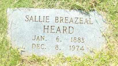 HEARD, SALLIE - Claiborne County, Louisiana | SALLIE HEARD - Louisiana Gravestone Photos
