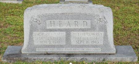LOWREY HEARD, MITTIE - Claiborne County, Louisiana | MITTIE LOWREY HEARD - Louisiana Gravestone Photos