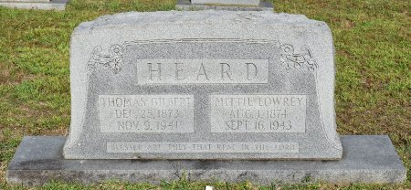 HEARD, THOMAS GILBERT - Claiborne County, Louisiana | THOMAS GILBERT HEARD - Louisiana Gravestone Photos