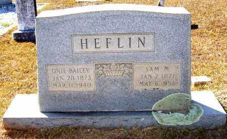 HEFLIN, ONIE - Claiborne County, Louisiana   ONIE HEFLIN - Louisiana Gravestone Photos