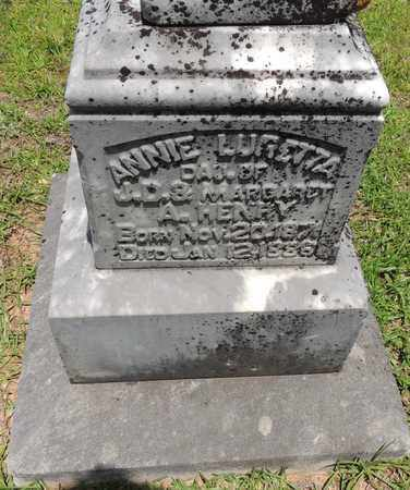HENRY, ANNIE LURETTA - Claiborne County, Louisiana | ANNIE LURETTA HENRY - Louisiana Gravestone Photos