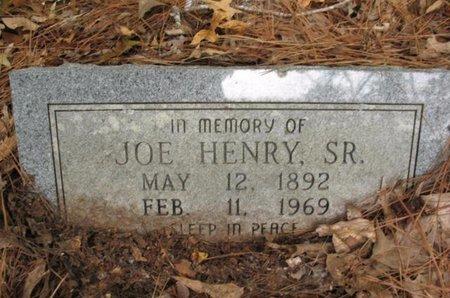 HENRY, JOE, SR - Claiborne County, Louisiana   JOE, SR HENRY - Louisiana Gravestone Photos