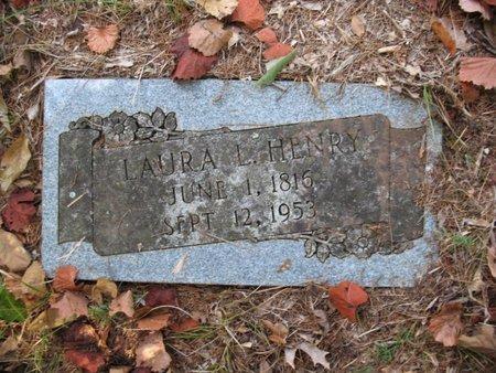HENRY, LAURA L - Claiborne County, Louisiana   LAURA L HENRY - Louisiana Gravestone Photos