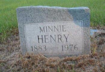 HENRY, MINNIE - Claiborne County, Louisiana | MINNIE HENRY - Louisiana Gravestone Photos