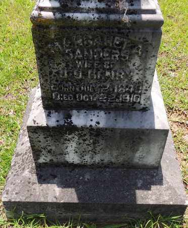 HENRY, MARGARET A - Claiborne County, Louisiana | MARGARET A HENRY - Louisiana Gravestone Photos