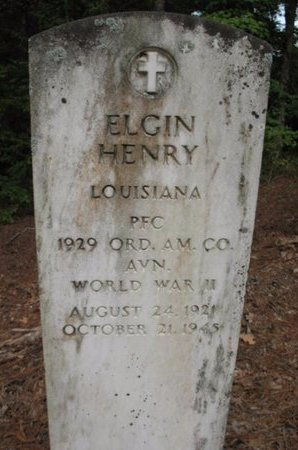 HENRY, ELGIN (VETERAN WWII, DNB) - Claiborne County, Louisiana | ELGIN (VETERAN WWII, DNB) HENRY - Louisiana Gravestone Photos