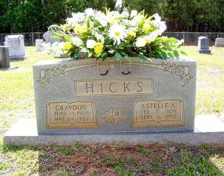 HICKS, GRAYDON - Claiborne County, Louisiana   GRAYDON HICKS - Louisiana Gravestone Photos