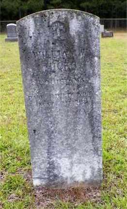 HICKS, WILLIAM WESLEY (VETERAN) - Claiborne County, Louisiana | WILLIAM WESLEY (VETERAN) HICKS - Louisiana Gravestone Photos