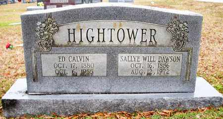 DAWSON HIGHTOWER, SALLYE WILL - Claiborne County, Louisiana | SALLYE WILL DAWSON HIGHTOWER - Louisiana Gravestone Photos