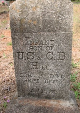 HILL, INFANT SON - Claiborne County, Louisiana   INFANT SON HILL - Louisiana Gravestone Photos