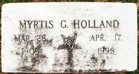 GORE HOLLAND, MYRTIS G - Claiborne County, Louisiana | MYRTIS G GORE HOLLAND - Louisiana Gravestone Photos