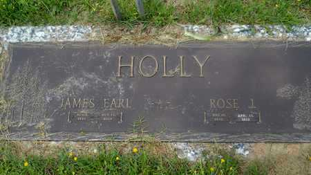 HOLLY, JAMES EARL - Claiborne County, Louisiana | JAMES EARL HOLLY - Louisiana Gravestone Photos