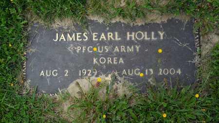 HOLLY, JAMES EARL (VETERAN KOR) - Claiborne County, Louisiana | JAMES EARL (VETERAN KOR) HOLLY - Louisiana Gravestone Photos
