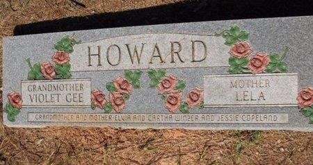 GEE HOWARD, VIOLET - Claiborne County, Louisiana | VIOLET GEE HOWARD - Louisiana Gravestone Photos