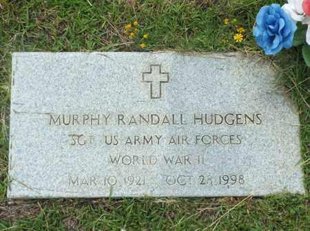 HUDGENS, MURPHY RANDALL (VETERAN WWII) - Claiborne County, Louisiana | MURPHY RANDALL (VETERAN WWII) HUDGENS - Louisiana Gravestone Photos