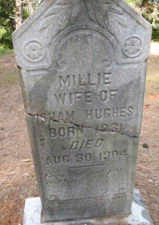 HUGHES, MILLIE - Claiborne County, Louisiana   MILLIE HUGHES - Louisiana Gravestone Photos
