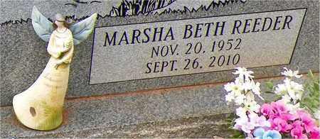 REEDER HUNTER, MARSHA BETH (CLOSEUP) - Claiborne County, Louisiana | MARSHA BETH (CLOSEUP) REEDER HUNTER - Louisiana Gravestone Photos