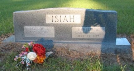 ISIAH, JOE I, REV - Claiborne County, Louisiana | JOE I, REV ISIAH - Louisiana Gravestone Photos