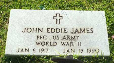 JAMES, JOHN EDDIE (VETERAN WWII) - Claiborne County, Louisiana   JOHN EDDIE (VETERAN WWII) JAMES - Louisiana Gravestone Photos