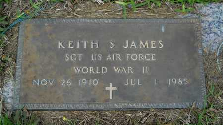 JAMES, KEITH S (VETERAN WWII) - Claiborne County, Louisiana | KEITH S (VETERAN WWII) JAMES - Louisiana Gravestone Photos