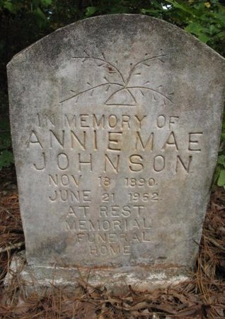 JOHNSON, ANNIE MAE - Claiborne County, Louisiana   ANNIE MAE JOHNSON - Louisiana Gravestone Photos