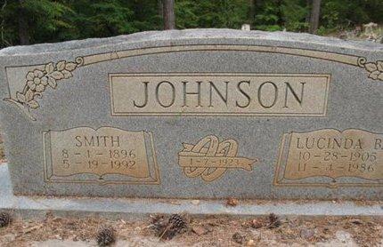 JOHNSON, LUCINDA B - Claiborne County, Louisiana   LUCINDA B JOHNSON - Louisiana Gravestone Photos