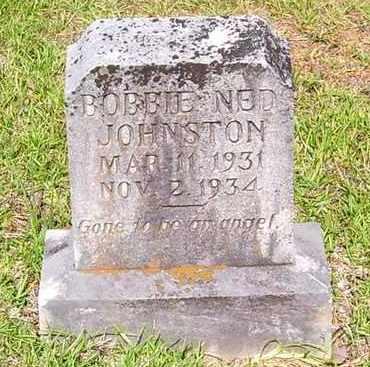 JOHNSTON, BOBBIE NED - Claiborne County, Louisiana | BOBBIE NED JOHNSTON - Louisiana Gravestone Photos