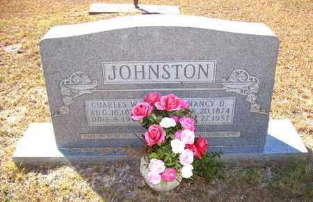 JOHNSTON, CHARLES W - Claiborne County, Louisiana | CHARLES W JOHNSTON - Louisiana Gravestone Photos