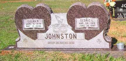 JOHNSTON, SEDRIC L - Claiborne County, Louisiana | SEDRIC L JOHNSTON - Louisiana Gravestone Photos