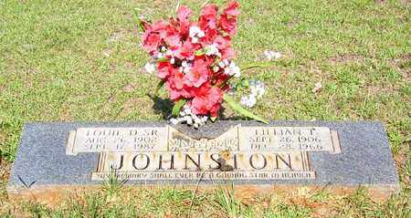 JOHNSTON, LOUIE D, SR - Claiborne County, Louisiana   LOUIE D, SR JOHNSTON - Louisiana Gravestone Photos