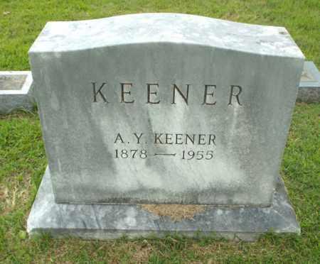 KEENER, A Y - Claiborne County, Louisiana | A Y KEENER - Louisiana Gravestone Photos