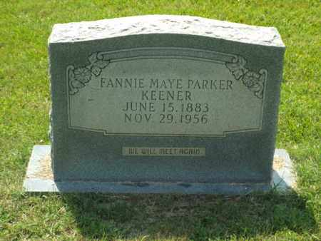 KEENER, FANNIE MAYE - Claiborne County, Louisiana | FANNIE MAYE KEENER - Louisiana Gravestone Photos