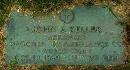 KELLER, JOHN A (VETERAN WWI) - Claiborne County, Louisiana | JOHN A (VETERAN WWI) KELLER - Louisiana Gravestone Photos