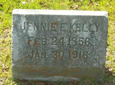 KELLY, JENNIE E - Claiborne County, Louisiana | JENNIE E KELLY - Louisiana Gravestone Photos