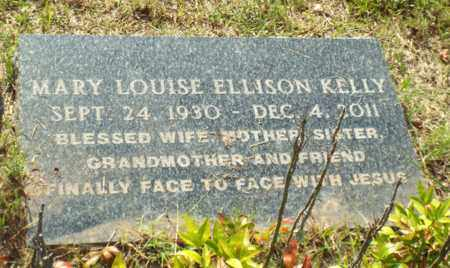 ELLISON KELLY, MARY LOUISE - Claiborne County, Louisiana | MARY LOUISE ELLISON KELLY - Louisiana Gravestone Photos