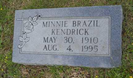 KENDRICK, MINNIE - Claiborne County, Louisiana | MINNIE KENDRICK - Louisiana Gravestone Photos