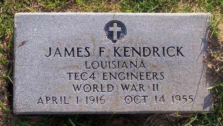 KENDRICK, JAMES F (VETERAN WWII) - Claiborne County, Louisiana | JAMES F (VETERAN WWII) KENDRICK - Louisiana Gravestone Photos
