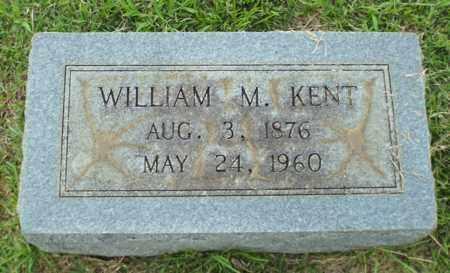 KENT, WILLIAM M - Claiborne County, Louisiana | WILLIAM M KENT - Louisiana Gravestone Photos