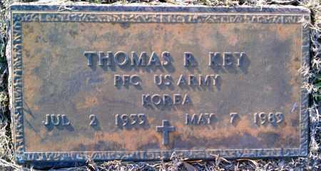 KEY, THOMAS R (VETERAN KOR) - Claiborne County, Louisiana   THOMAS R (VETERAN KOR) KEY - Louisiana Gravestone Photos