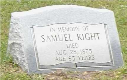 KIGHT, SAMUEL - Claiborne County, Louisiana   SAMUEL KIGHT - Louisiana Gravestone Photos
