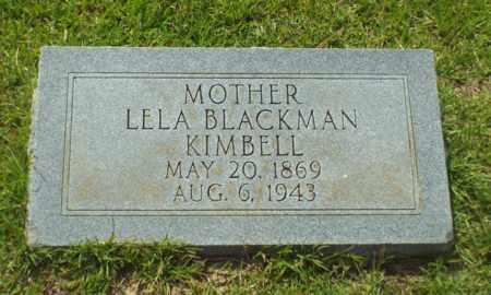 KIMBELL, LELA - Claiborne County, Louisiana | LELA KIMBELL - Louisiana Gravestone Photos